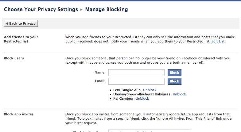Cara Membatalkan Akun ID atau User name Facebook Timeline Orang yang ...