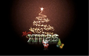 Download Tutorial Photoshop XMas