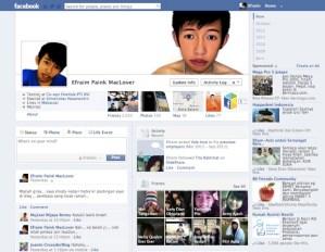 Cara aktifkan FB timeline